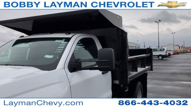2018 Silverado 3500 Regular Cab DRW 4x4, Crysteel Dump Body #JZ252391 - photo 30