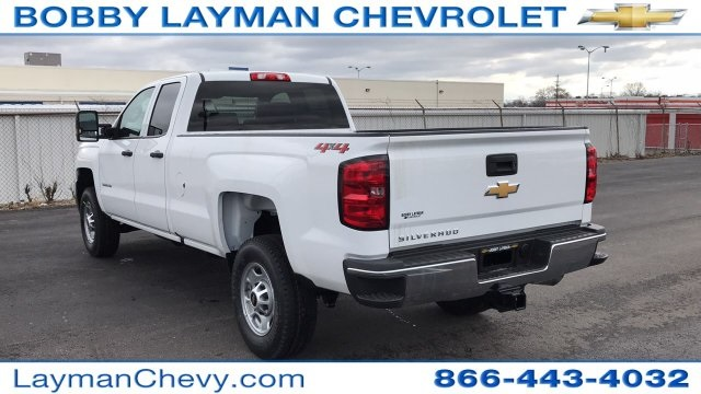 2018 Silverado 2500 Double Cab 4x4,  Pickup #JZ268588 - photo 2