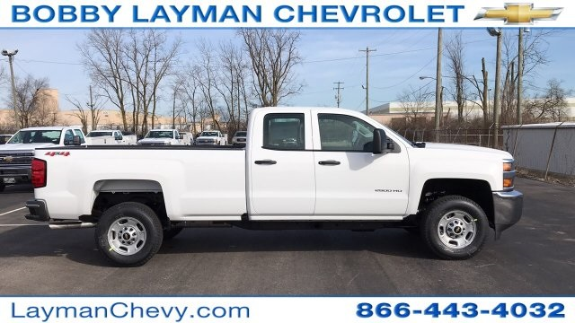 2018 Silverado 2500 Double Cab 4x4, Pickup #JZ268650 - photo 1