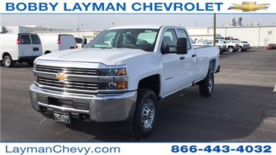 2018 Silverado 2500 Double Cab 4x4, Pickup #JZ268650 - photo 3