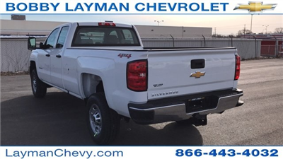 2018 Silverado 2500 Double Cab 4x4, Pickup #JZ268650 - photo 2