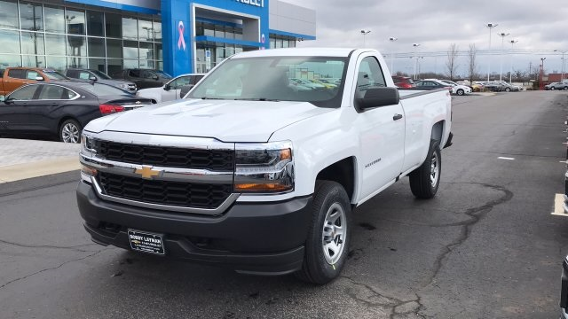 2018 Silverado 1500 Regular Cab 4x4,  Pickup #JZ275379 - photo 3