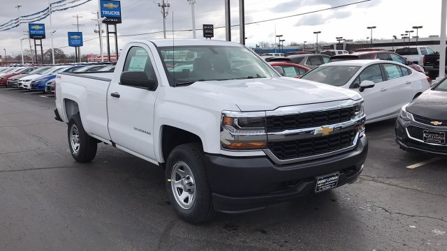 2018 Silverado 1500 Regular Cab 4x4,  Pickup #JZ275379 - photo 5