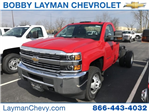 2018 Silverado 3500 Regular Cab DRW, Cab Chassis #JZ312898 - photo 1