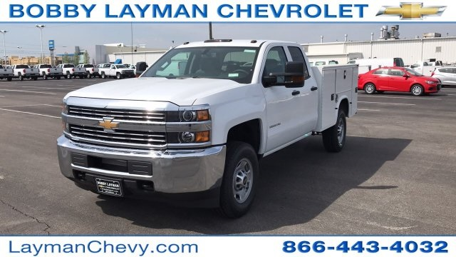 2018 Silverado 2500 Double Cab 4x4, Service Body #JZ320575 - photo 3