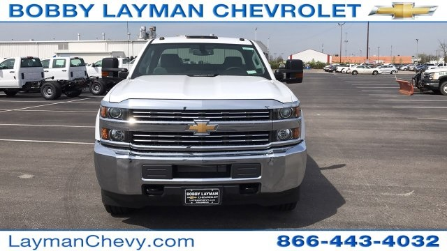 2018 Silverado 2500 Double Cab 4x4, Service Body #JZ320575 - photo 4