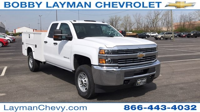 2018 Silverado 2500 Double Cab 4x4, Service Body #JZ320575 - photo 5