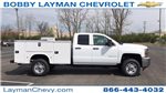2018 Silverado 2500 Double Cab 4x4, Service Body #JZ320575 - photo 1