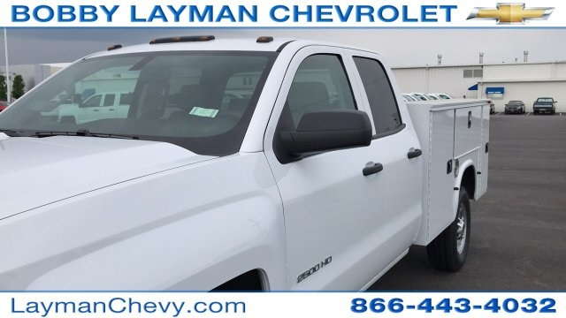2018 Silverado 2500 Double Cab 4x4,  Knapheide Standard Service Body #JZ334872 - photo 30