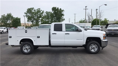 2018 Silverado 2500 Double Cab 4x4,  Knapheide Standard Service Body #JZ334872 - photo 1