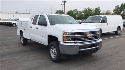 2018 Silverado 2500 Double Cab 4x4,  Knapheide Standard Service Body #JZ334872 - photo 6