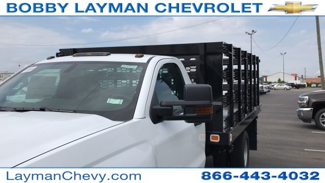 2019 Silverado 3500 Regular Cab 4x4,  Stake Bed #KF101209 - photo 56