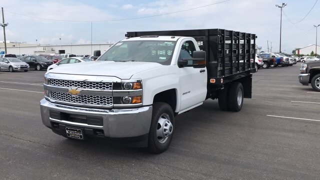 2019 Silverado 3500 Regular Cab 4x4,  Stake Bed #KF101209 - photo 5