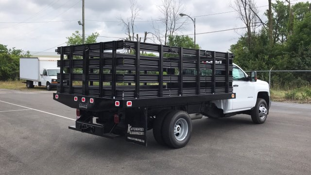 2019 Silverado 3500 Regular Cab 4x4,  Stake Bed #KF101209 - photo 11