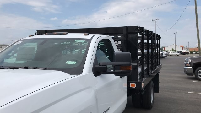 2019 Silverado 3500 Regular Cab 4x4,  Stake Bed #KF101209 - photo 55