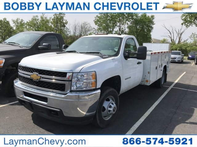 2014 Silverado 3500 Regular Cab 4x2,  Service Body #P110690 - photo 2