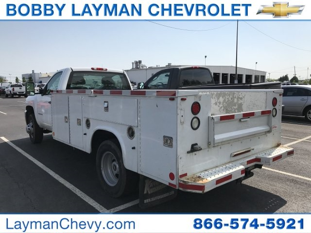 2014 Silverado 3500 Regular Cab 4x2,  Service Body #P110690 - photo 4
