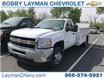 2014 Silverado 3500 Regular Cab 4x2,  Service Body #P110690 - photo 1