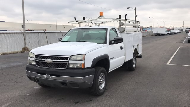 2005 Silverado 2500 Regular Cab 4x2,  Service Body #P154307 - photo 7