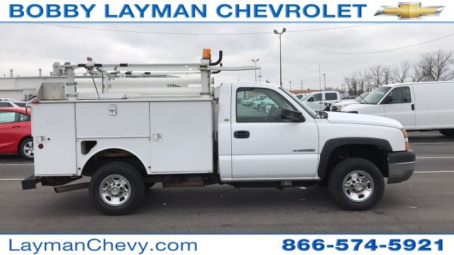 2005 Silverado 2500 Regular Cab 4x2,  Service Body #P154307 - photo 2