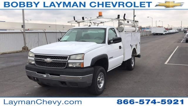 2005 Silverado 2500 Regular Cab 4x2,  Service Body #P154307 - photo 8