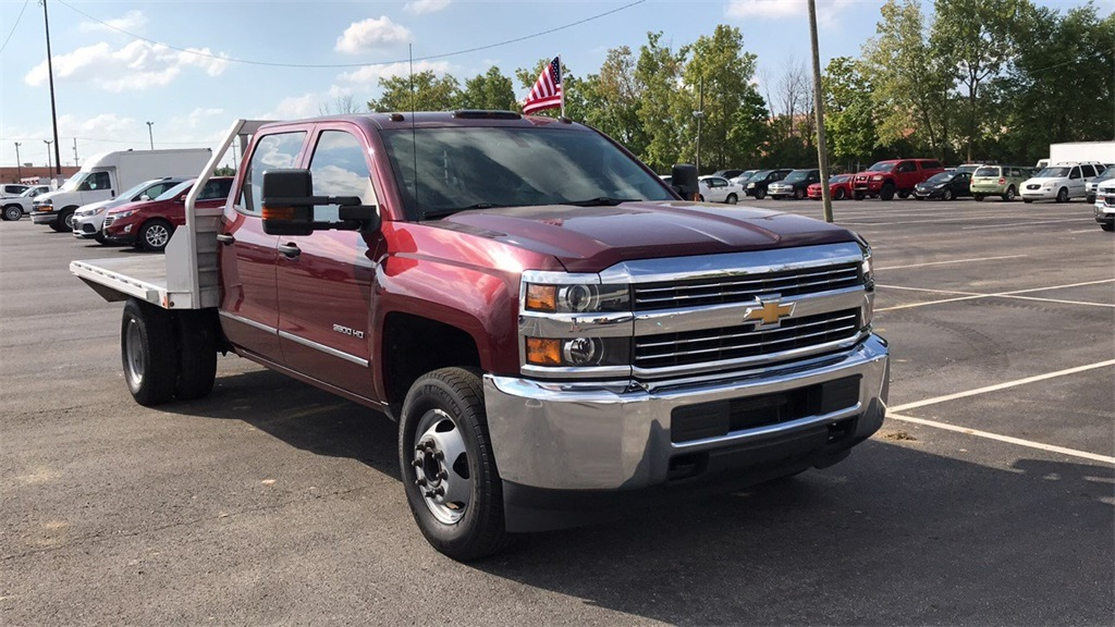 2016 Silverado 3500 Crew Cab DRW 4x2,  Platform Body #PCA183102 - photo 5