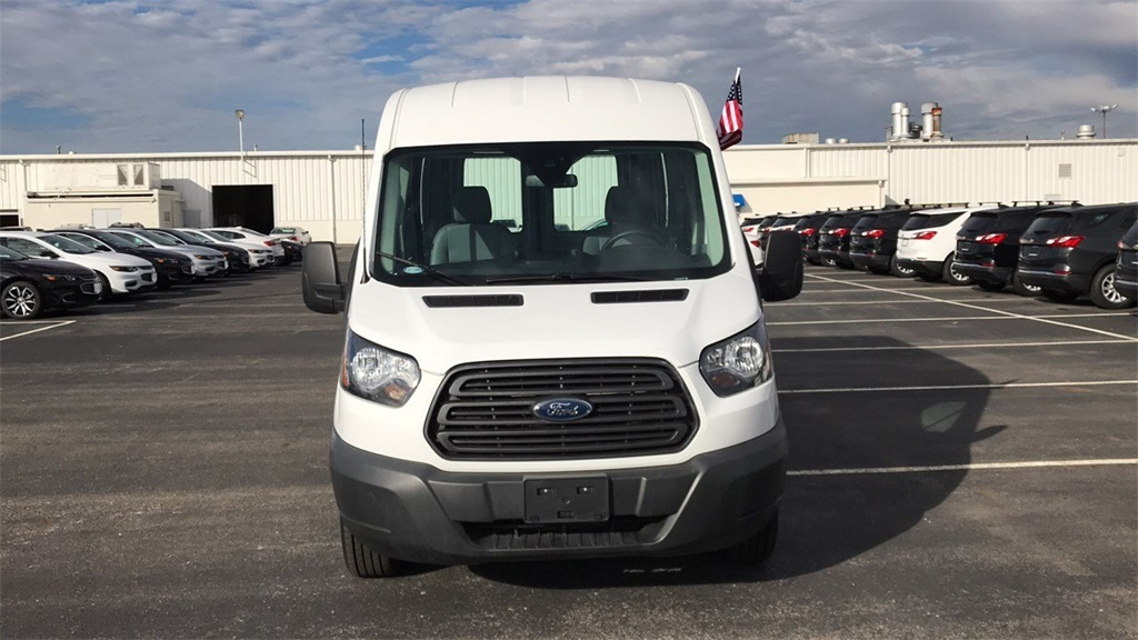 2017 Transit 250 Med Roof 4x2,  Empty Cargo Van #PCAB07803 - photo 5
