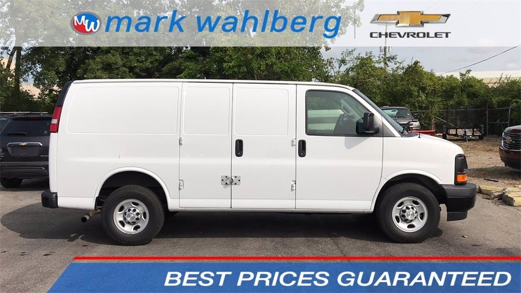 2017 Chevrolet Express 3500 RWD, Upfitted Cargo Van #PCE145011 - photo 1