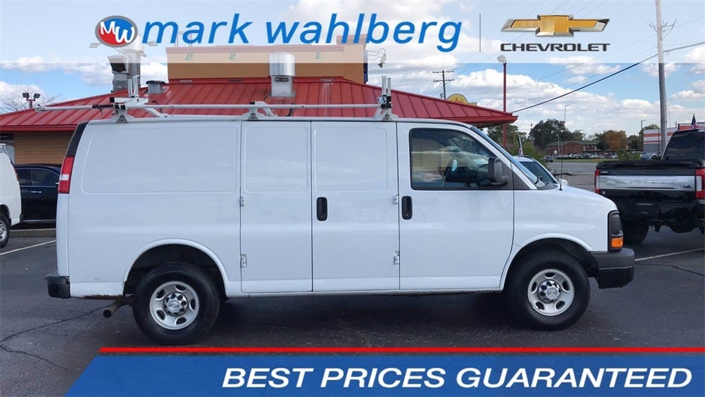 2016 Chevrolet Express 3500 RWD, Upfitted Cargo Van #PCE180509 - photo 1