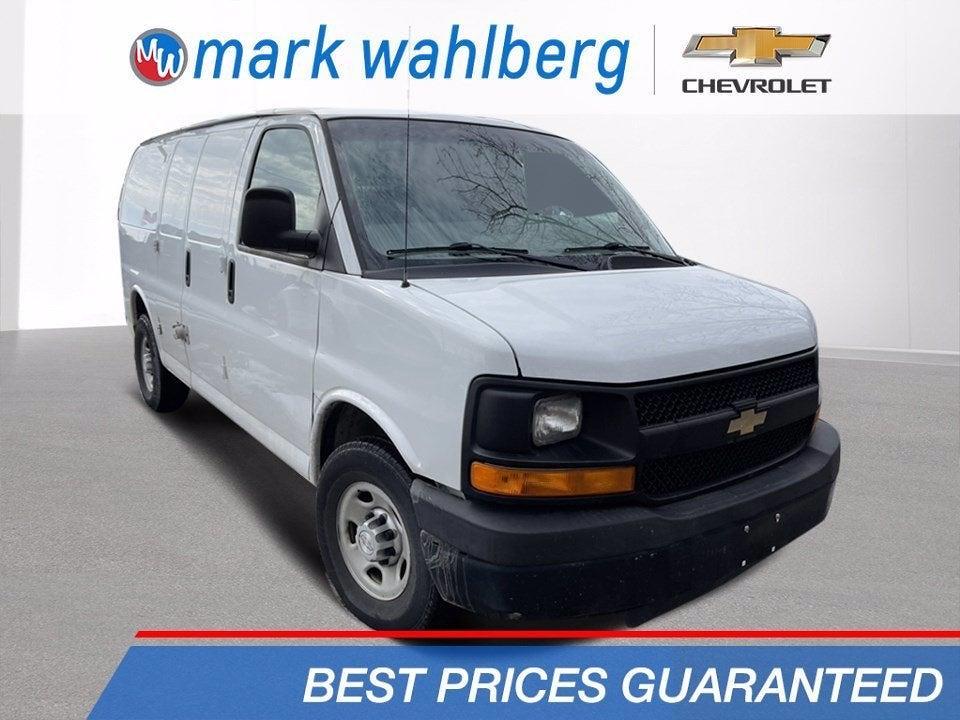 2015 Chevrolet Express 3500 4x2, Upfitted Cargo Van #PCE186345 - photo 1