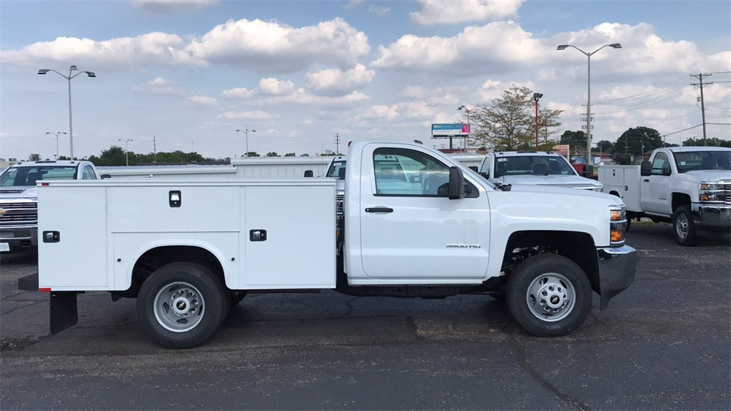 2018 Silverado 3500 Regular Cab DRW 4x4,  Knapheide Service Body #VJCQQF - photo 27