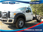 2016 F-550 Regular Cab DRW 4x4, Cab Chassis #GEC05176 - photo 1