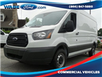 2017 Transit 250 Medium Roof, Cargo Van #HKA04044 - photo 1