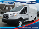 2017 Transit 350 HD Low Roof DRW, Knapheide Service Utility Van #HKA54091 - photo 1