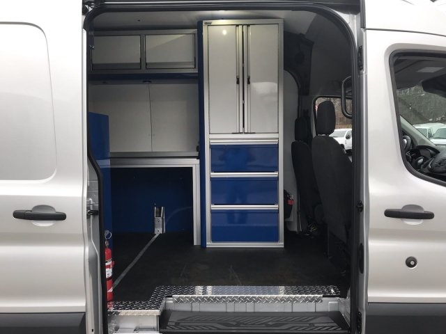 2017 Transit 350 HD High Roof DRW 4x2, Upfitted Cargo Van #HKB32280 - photo 10