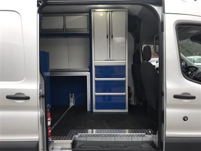 2017 Transit 350 HD High Roof DRW 4x2,  CTECH Manufacturing Mobile Work Shop Upfitted Cargo Van #HKB32280 - photo 10