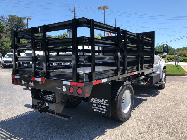 2018 F-750 Regular Cab DRW 4x2,  Stake Bed #JDF04095 - photo 6