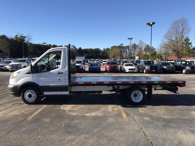 2018 Transit 350 HD DRW 4x2,  Platform Body #JKA97573 - photo 4