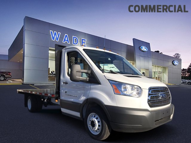 2018 Transit 350 HD DRW 4x2,  Platform Body #JKB23207 - photo 3