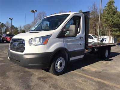 2018 Transit 350 HD DRW 4x2,  Smyrna Truck Platform Body #JKB23207 - photo 1