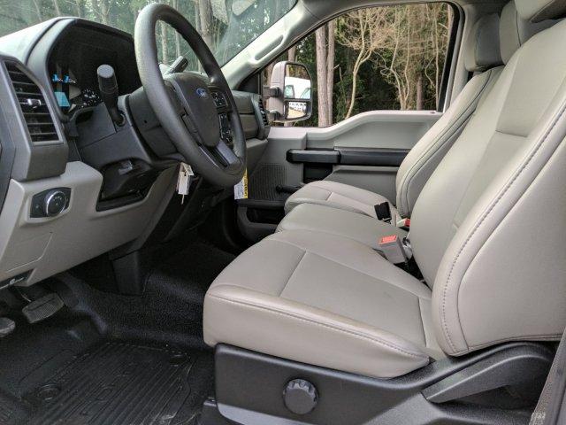 2019 F-550 Regular Cab DRW 4x2,  Smyrna Truck Platform Body #KDA17634 - photo 5