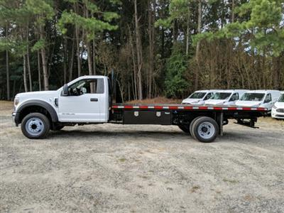 2019 F-550 Regular Cab DRW 4x2,  Smyrna Truck Platform Body #KDA17634 - photo 4