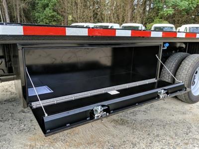 2019 F-550 Regular Cab DRW 4x2,  Smyrna Truck Platform Body #KDA17634 - photo 8