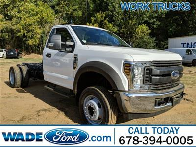 2019 F-550 Regular Cab DRW 4x2,  Cab Chassis #KDA22003 - photo 1