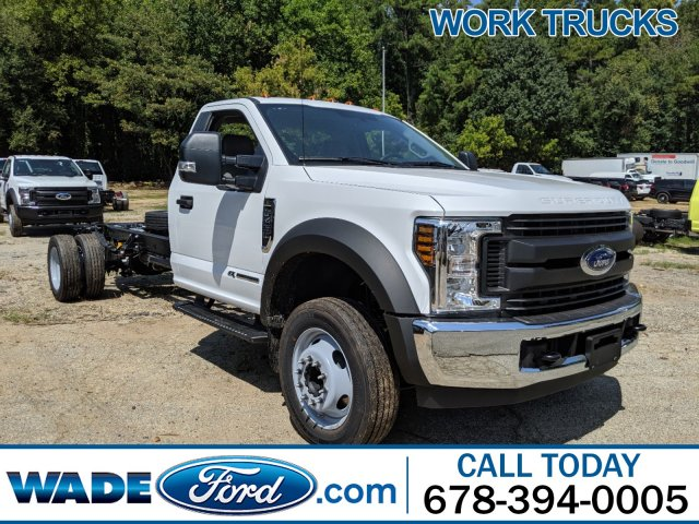 2019 Ford F-450 Regular Cab DRW RWD, Cab Chassis #KDA24089 - photo 1