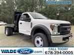 2019 Ford F-550 Regular Cab DRW RWD, Knapheide Platform Body #KDA24223 - photo 1