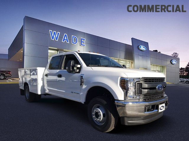 2019 F-350 Crew Cab DRW 4x4,  Reading Service Body #KED02623 - photo 13