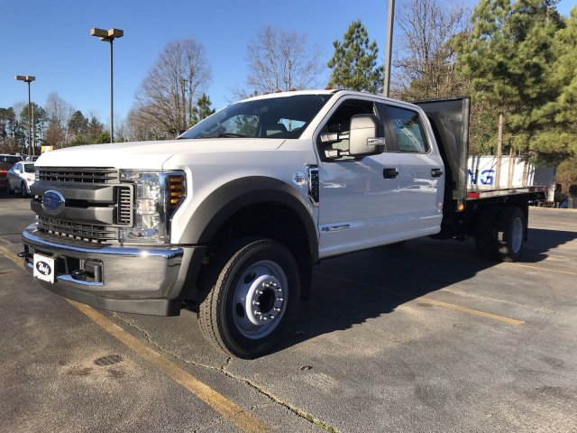 2019 F-450 Crew Cab DRW 4x2,  Platform Body #KED30148 - photo 4