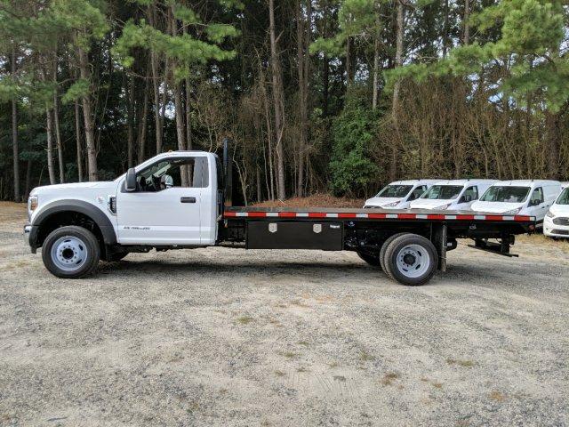 2019 F-550 Regular Cab DRW 4x2,  Smyrna Truck Platform Body #KEF66223 - photo 4