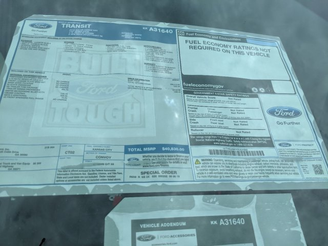 2019 Transit 250 High Roof 4x2,  Empty Cargo Van #KKA31640 - photo 26